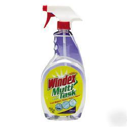 windex multi task with vinegar 12 32 oz drk cb109797. Black Bedroom Furniture Sets. Home Design Ideas