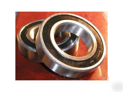 Lot 2 ball bearing 6007-2RS 35X62 rubber sealed 6007 rs