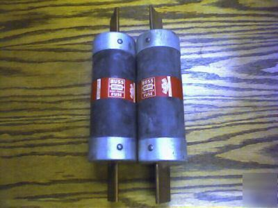 One buss nos 600 one-time fuse