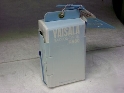 Vaisala radiosonde RS80 w/ prime meteorlogical balloon