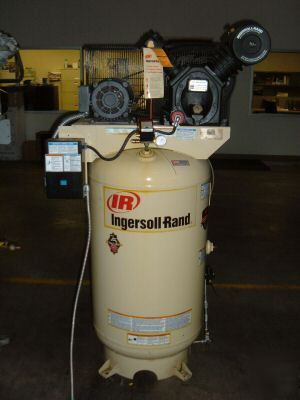 Used white ingersoll rand T30 air compressor image No ingersoll rand compressor wiring compressor pro ingersoll rand t30 air compressor wiring diagram at crackthecode.co