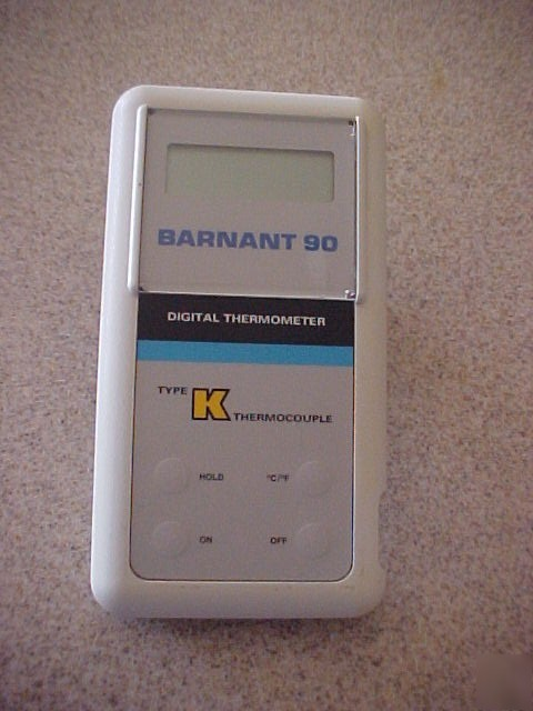 Barnant 90, model 600-2840K digital thermometer
