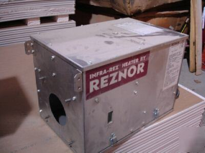 Reznor Infrared Radiant Tube Heater Box Natural Gas