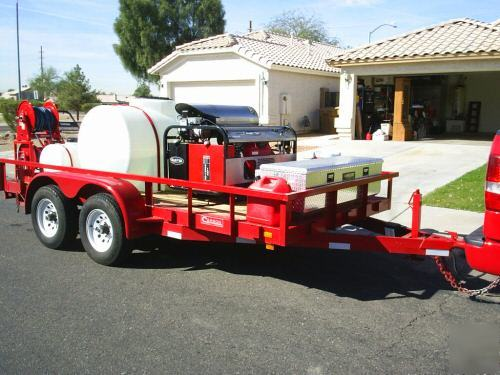 how to build a pressure washer trailer