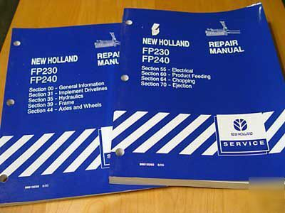 New holland FP230 FP240 chopper service repair manual