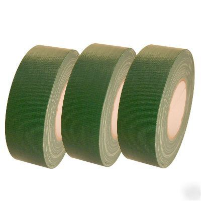Dark Green Duct Tape 3 Pack Cdt 36 2 Quot X 60 Yards Ea