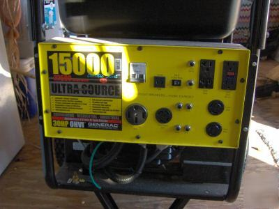 Generac 15000 Watt Generator >> Generator generac 15000 watts