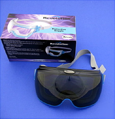 Allsafe revolution safety goggles smoke lens 10 pair