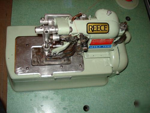 Reece industrial sewing machine manuals