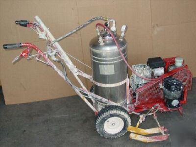 Gas Gauge Not Working >> Jiffy gas-power parking lot asphalt paint line striper