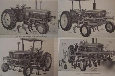 John Deere Mountd Cultivator Manual Image No