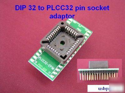 Sockel Plcc 28 Pin Tht für Integrierte Schaltkreise Socket 28 Pin Kontakte