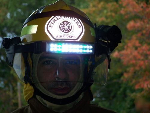 Foxfury firefighter helmet flashlight ** the best**