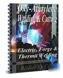 Oxy-acetylene electric forge thermit welding instructio